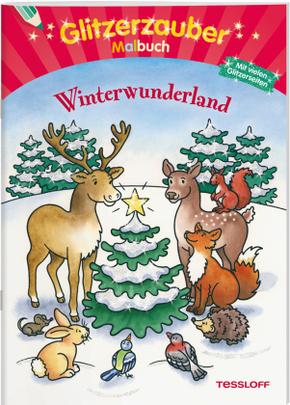 Glitzerzauber Malbuch Winterwunderland