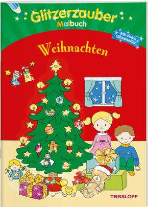 Glitzerzauber Malbuch Weihnachten