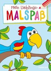 Mein Lieblingsmalspaß (Papagei)