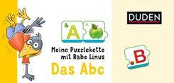 Meine Puzzlekette mit Rabe Linus - Das Abc (Kinderspiel)