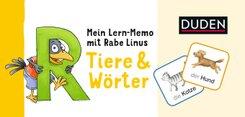 Mein Lern-Memo mit Rabe Linus - Tiere & Wörter (Kinderspiele)