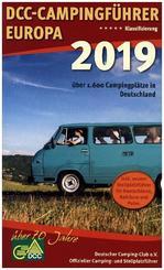 DCC-Campingführer Deutschland/Europa 2019