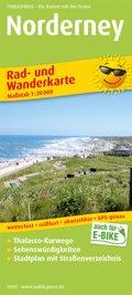 PublicPress Rad- und Wanderkarte Norderney
