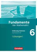 Fundamente der Mathematik, Gymnasium G9, Schleswig-Holstein: 6. Schuljahr, Lösungen zum Schülerbuch