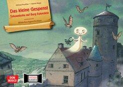Das kleine Gespenst. Tohuwabohu auf Burg Eulenstein. Kamishibai Bildkartenset.
