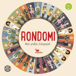 Rondomi - Mein großes Anlegespiel - Berufe (Kinderspiel)