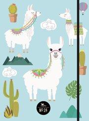 Notizbuch No. 24 - Lamas