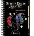 Kreativ-Kratzel Pocket Art: Magische Pferde