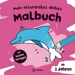Mein allererstes dickes Malbuch (Delfin)