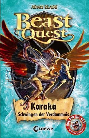 Beast Quest - Karaka, Schwingen der Verdammnis