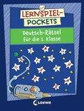 Lernspiel-Pockets - Deutsch-Rätsel für die 1. Klasse