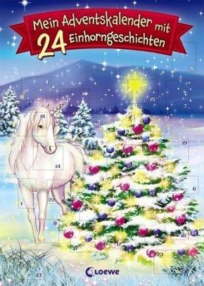 Mein Adventskalender mit 24 Einhorngeschichten