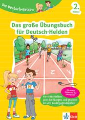 Das große Übungsbuch für Deutsch-Helden 2. Klasse