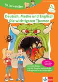 Deutsch, Mathe und Englisch - Die wichtigsten Themen 4. Klasse