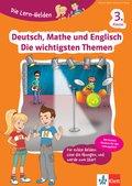 Deutsch, Mathe und Englisch - Die wichtigsten Themen 3. Klasse