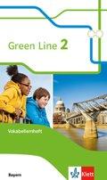 Green Line, Ausgabe für Bayern ab 2017: Green Line, Ausgabe für Bayern ab 2017, 6. Schuljahr, Vokabellernheft - Bd.2