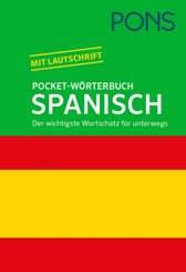 PONS Pocket-Wörterbuch Spanisch