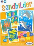 Sandbilder Fische und Delfine (d)