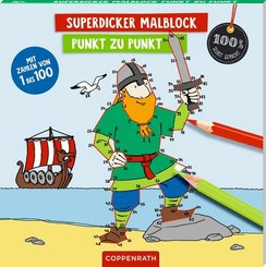 Superdicker Malblock - Punkt zu Punkt