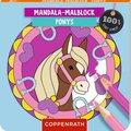 Mandala-Malblock - Ponys