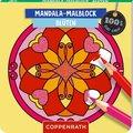 Mandala-Malblock - Blüten