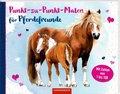 Punkt-zu-Punkt-Malen für Pferdefreunde