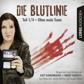 Die Blutlinie - Folge 01, 1 Audio-CD