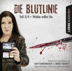 Die Blutlinie - Folge 03, 1 Audio-CD