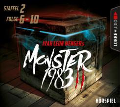 Monster 1983, Staffel II: Folge 06-10, 5 Audio-CDs