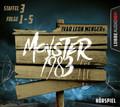 Monster 1983, Staffel III, Folge 01-05, 5 Audio-CDs