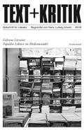 Text + Kritik: Gelesene Literatur; .Sonderbd