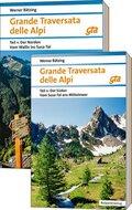 Grande Traversata delle Alpi Nord und Süd, 2 Teile