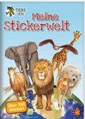 Meine Stickerwelt - Tiere unserer Erde
