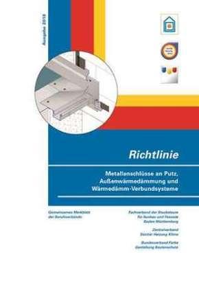 Richtlinie Metallanschlüsse an Putz, Außenwärmedämmung und Wärmedämm-Verbundsysteme