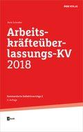 Arbeitskräfteüberlassungs-KV 2018, m. 1 E-Book