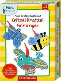 Mein erstes Bastelset: Kritzel-Kratzel-Anhänger