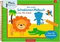 Mein erstes Schablonen-Malbuch: Löwe, Affe, Krokodil