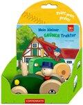 Mein kleiner grüner Traktor, m. Holzauto