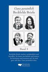 Ganz persönlich: Beckfelds Briefe - Bd.3