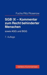 SGB IX - Kommentar zum Recht behinderter Menschen
