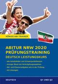 Abitur NRW 2020 Prüfungstraining - Deutsch Leistungskurs