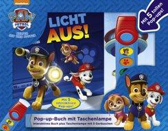 Buch & Sound Spiel-Set, PAW Patrol, Licht aus!