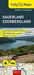 FolyMaps Sauerland Ederbergland 1:250 000