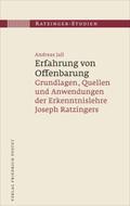 Ratzinger-Studien: Erfahrung von Offenbarung; .15