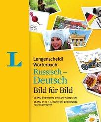 Langenscheidt Wörterbuch Russisch-Deutsch Bild für Bild