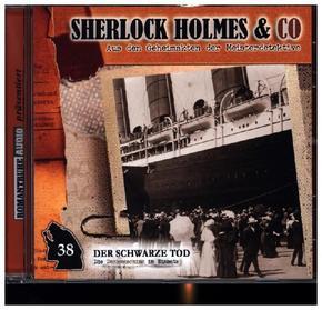 Sherlock Holmes & Co - Der Schwarze Tod, 1 Audio-CD