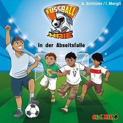 Fußball-Haie - In der Abseitsfalle, 1 Audio-CD