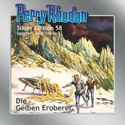 Perry Rhodan Silber Edition - Die gelben Eroberer, 1 Audio-CD