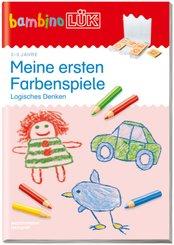 bambinoLÜK-Übungshefte: Meine ersten Farbenspiele: Logisches Denken; 119
