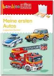 bambinoLÜK-Übungshefte: Meine ersten Autos: Logisches Denken